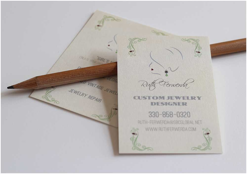 Ruth Ferwerda Business Cards